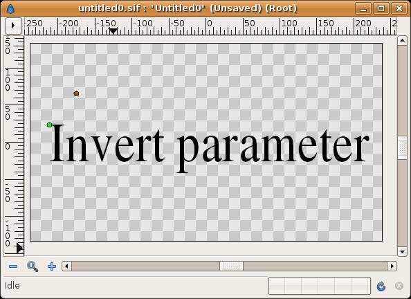 Invert Parameter off