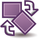 File:Layer transform rotate icon.png
