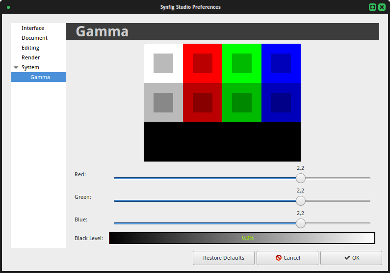 Preferences-Gamma current.png